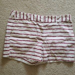Ann Taylor Stripped Shorts